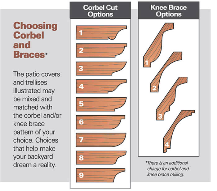 Corbel-and-Knee-Brace-Options