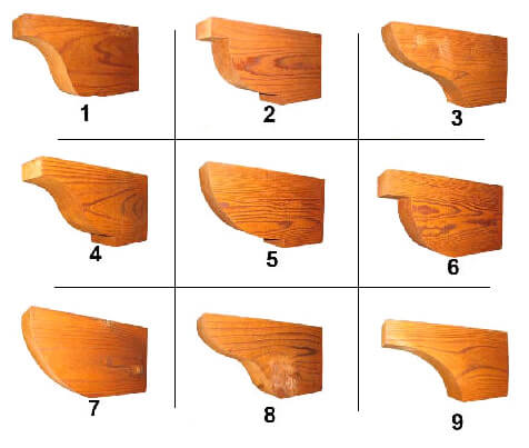 Download Corbel Options - Custom Wood Milling Custom Lumber Milling Siding Pattenrs And