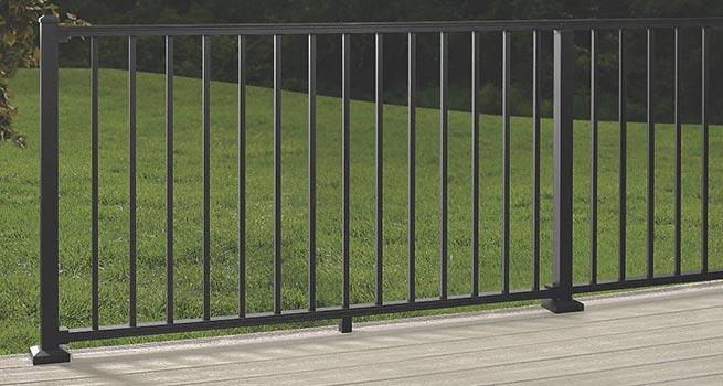 Metal Deck Railing Aluminum Deck Railing Systems
