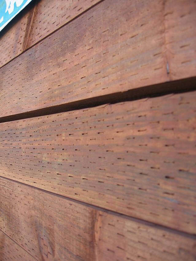 Building tips for working with pressure treated wood j w for Brown treated deck boards