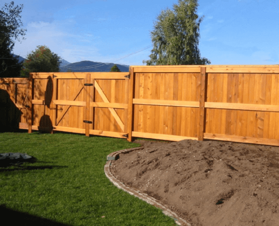 To dos before installing your own wood fence j w lumber for Make your own fence