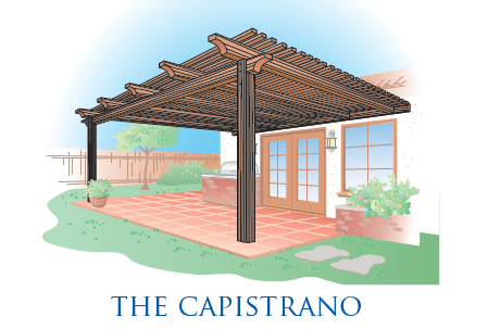 The Capistrano Patio Cover