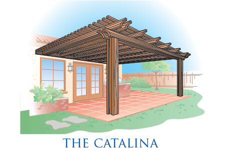 free standing patio cover. The-Catalina-Patio-Cover Free Standing Patio Cover
