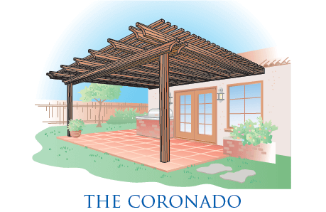 wood patio covers.  Wood The Coronado Patio Cover With Wood Covers