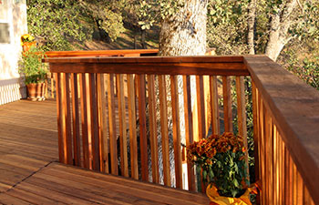 Tradition Redwood Cedar Railing