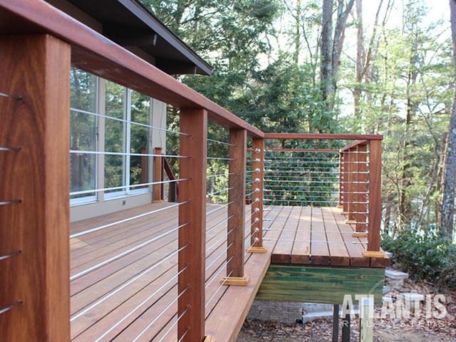 Wood Deck Railing Wood Railings Outdoor Railings