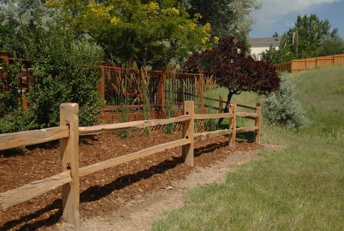 Post And Rail Fencing Cedar Split Rail Fence Rustic