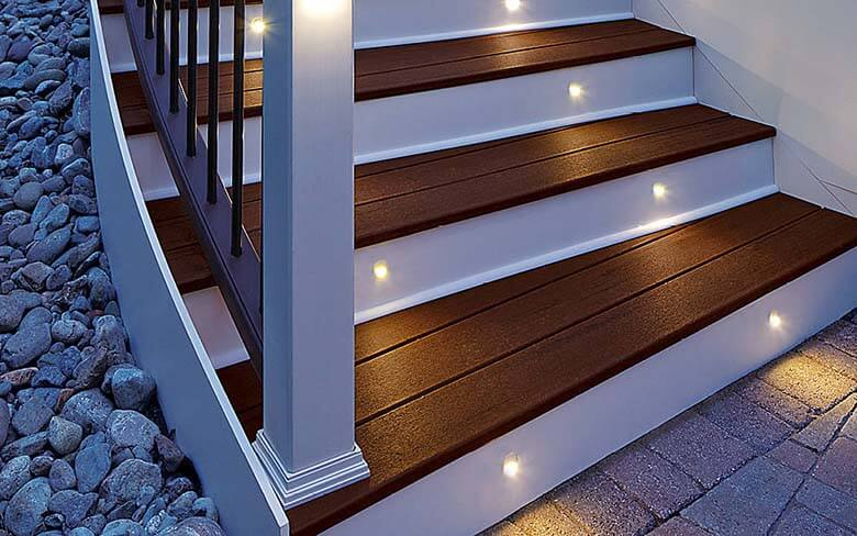 deck lighting outdoor deck lighting products low voltage led