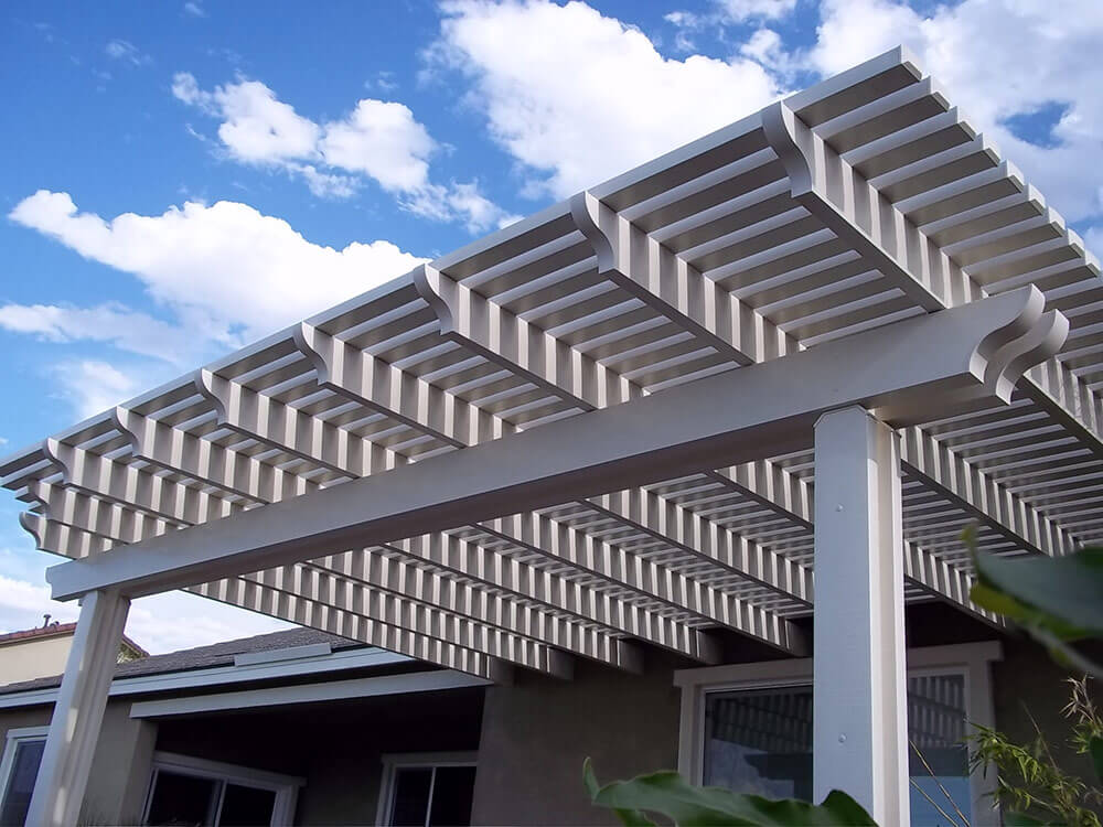 Charmant Duralum Lattice Patio Cover 1