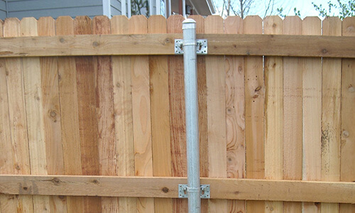 how to get metal fence posts out of the ground
