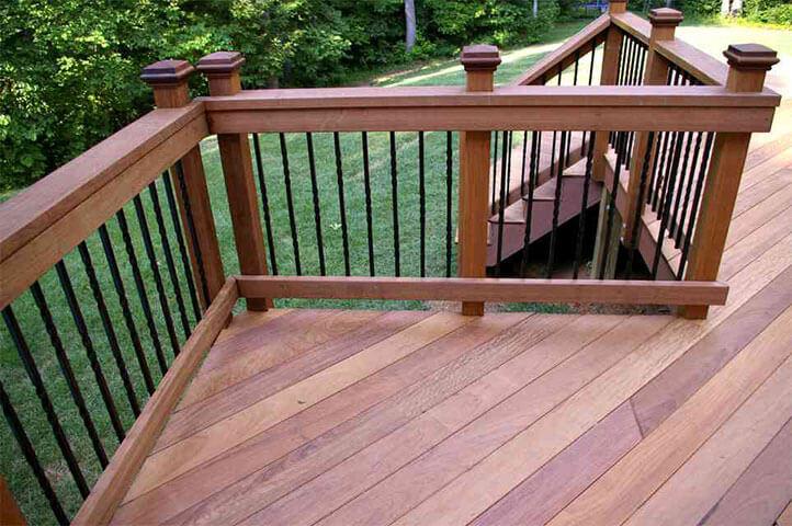Hardwood Decking Hardwood Lumber For Deck Dock Projects
