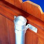 round-galvanized-metal-fence-post