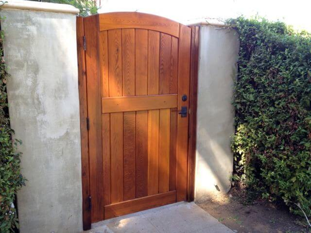 Wood Gates Sederra Gate Products