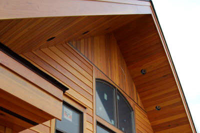 Wood siding redwood western red cedar siding for Metal shiplap siding