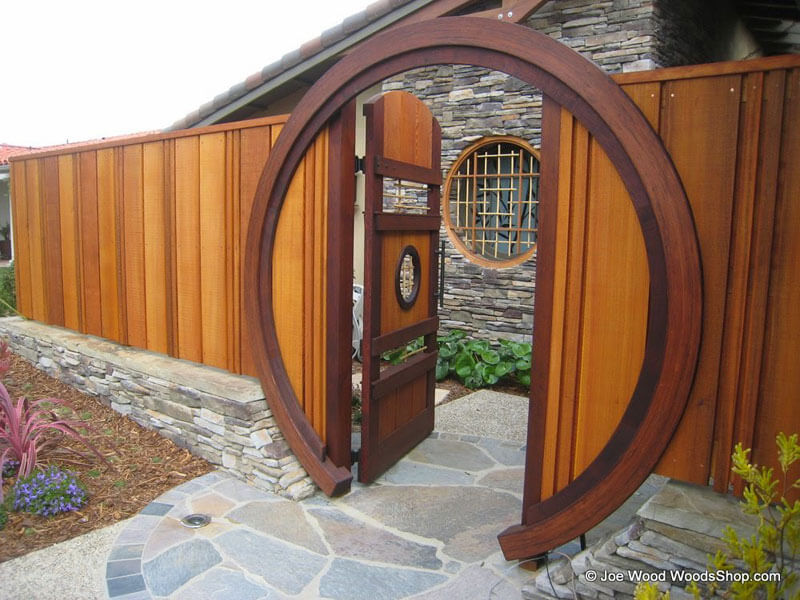 Outdoor construction project gallery decking siding for Japanese gates pictures