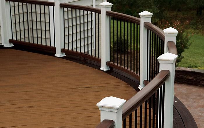 Trex Custom Curve Bending Service J Amp W Lumber