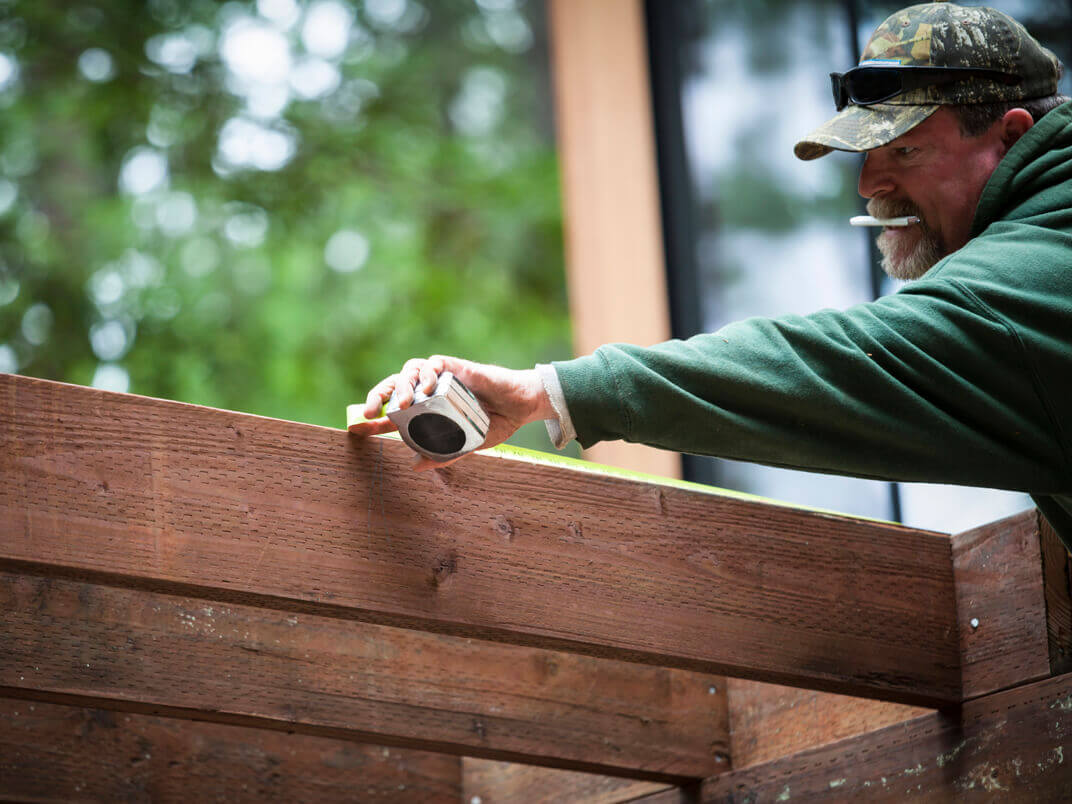 Measuring Pressure Treated Wood