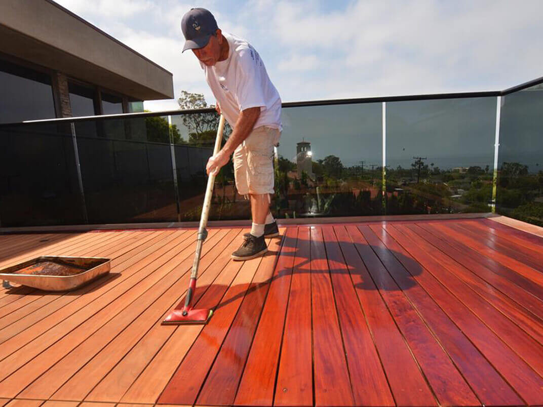 Image result for reseal deck in the summer