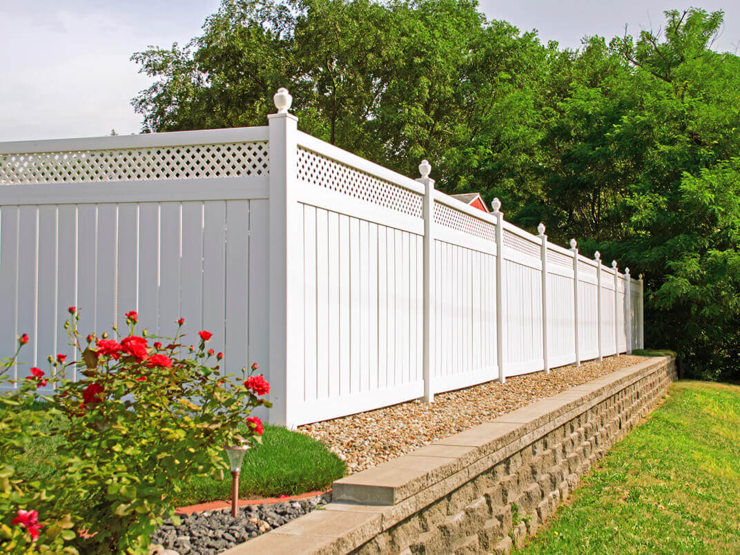 Fencing from simple to specialty j w lumber for Simple fence