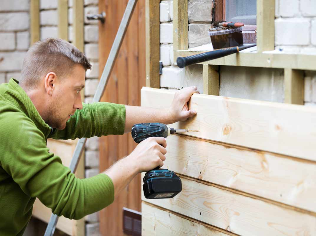 lumber projects siding