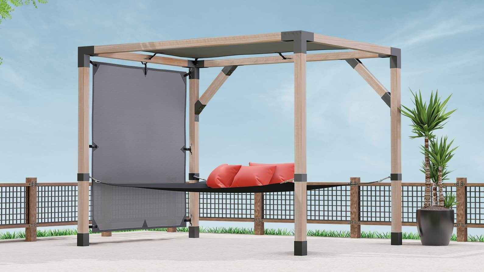 Introducing LINX: A Quick & Easy Pergola System